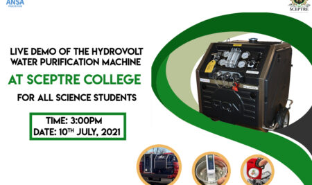 Live Demo of the Hydrovolt Water Purification Machine